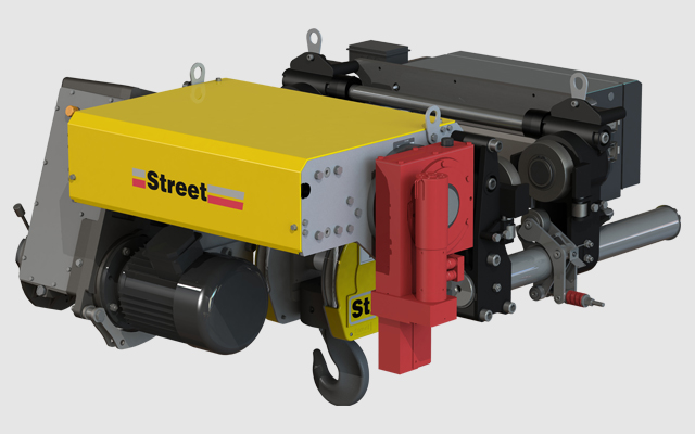 ZX Commercial Off-The-Shelf (COTS) hoist by Street Crane