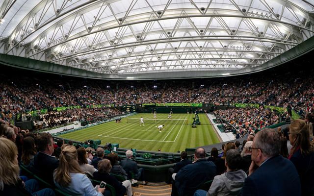 AELTC No.1 Court Retractable Roof