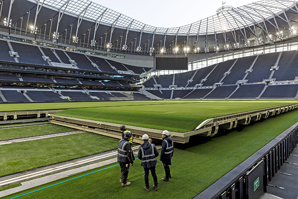 Tottenham Hotspur Retractable Pitch And Surround